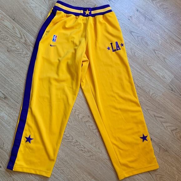 Vintage nike la Lakers warm up pants